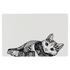 Podkladka pod miski dla kota Zentangle Trixie24788