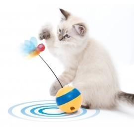 """Zabawka dla kota Catit Play """"Spinning Bee"""", z laserem i przysmakami"""