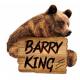 Barry King mała piłka XS dla szczeniąt różowa, 6 cm