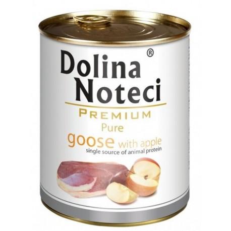 Dolina Noteci Premium Pies Pure Gęś i jabłko puszka 800g