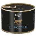 Natural Taste Kot z tuńczykiem puszka 185g
