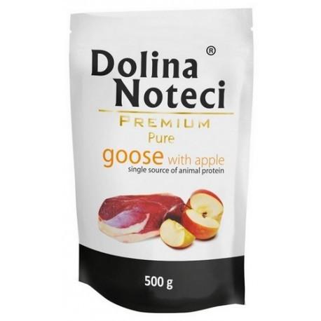 Dolina Noteci Premium Pies Pure Gęś i jabłko saszetka 500g