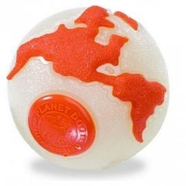 Planet Dog Orbee Ball beżowo-pomarańczowa small [68670]