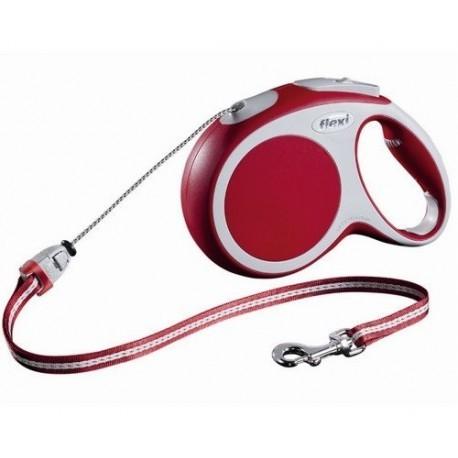 Flexi Vario Smycz linka M 8m czerwona [FL-9412]