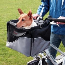 Trixie Torba do roweru przednia czarno-szara [13113]