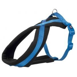 Trixie Uprząż Premium S-M 40-60cm/20mm niebieska [TX-203802]