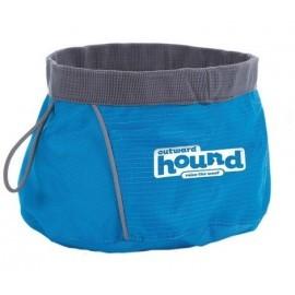 Outward Hound Miska podróżna niebieska 700ml [23001]