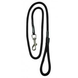 CHABA Smycz linka - 6mm x 120cm czarna