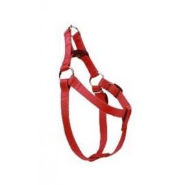 CHABA Szelki taśma regulowane nr 3 - obwód 60cm czerwone