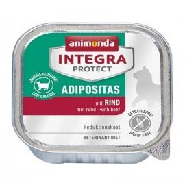 Animonda Integra Protect Adipositas dla kota - z wołowiną tacka 100g