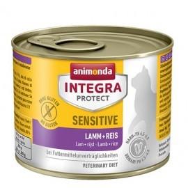 Animonda Integra Protect Sensitive dla kota - z jagnięciną i ryżem puszka 200g