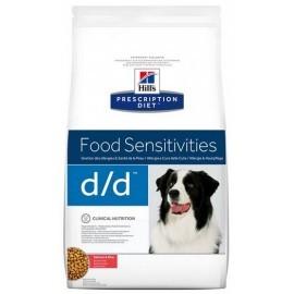 Hill's Prescription Diet d/d Łosoś i Ryż Canine 12kg