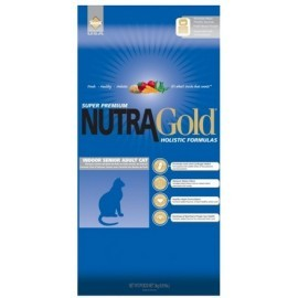 Nutra Gold Holistic Indoor Senior Cat 3kg