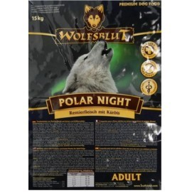 Wolfsblut Dog Polar Night renifer i dynia 15kg