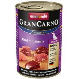Animonda GranCarno Senior Rind Lamm Wołowina + Jagnięcina puszka 400g