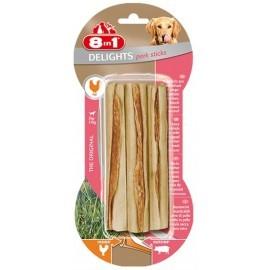 8in1 Pork Delights Sticks 3szt