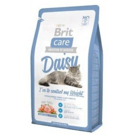 Brit Care Cat New Daisy I've To Control My Weight Turkey & Rice 2kg