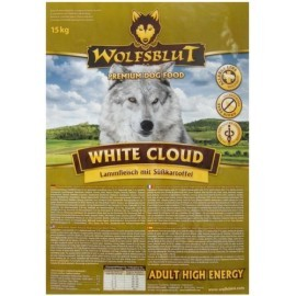 Wolfsblut Dog White Cloud Active jagnięcina 15kg