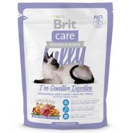 Brit Care Cat New Lilly I've Sensitive Digestion Lamb & Salmon 400g