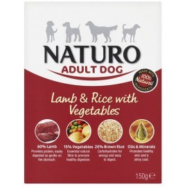Naturo Adult Mini Jagnięcina z ryżem i warzywami 150g