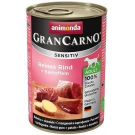 Animonda GranCarno Sensitiv Wołowina + ziemniaki puszka 400g
