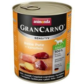 Animonda GranCarno Sensitiv Indyk + ziemniaki puszka 800g