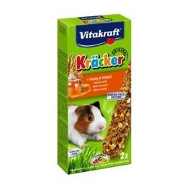 Vitakraft Kracker 2szt Świnka morska miód & orkisz 112g [10640]