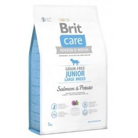 Brit Care Grain Free Junior Large Salmon & Potato 3kg
