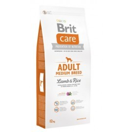 Brit Care New Adult Medium Breed Lamb & Rice 12kg