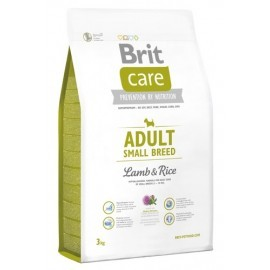 Brit Care New Adult Small Breed Lamb & Rice 3kg