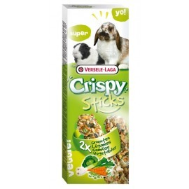 Versele-Laga Crispy Sticks Rabbit & Guinea Pig Vegetables - kolby dla królików i świnek z warzywami 110g