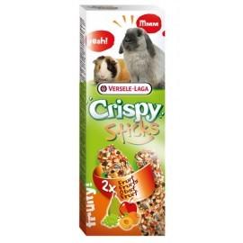 Versele-Laga Crispy Sticks Rabbit & Guinea Pig Fruits - kolby dla królików i świnek z owocami 110g
