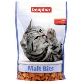 Beaphar Malt Bits - z pastą przeciw pilobezoarom 150g