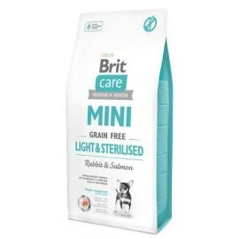 Brit Care Grain Free Mini Light & Sterilised 2kg