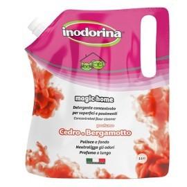 Inodorina Płyn do mycia Cedro e Bergamotto - cedr i bergamotka 1L