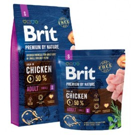 Brit Premium By Nature Adult S Small 1kg