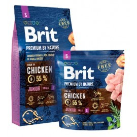 Brit Premium By Nature Junior S Small 1kg