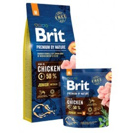 Brit Premium By Nature Junior M Medium 1kg