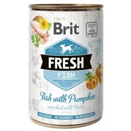 Brit Fresh Dog Fish with Pumpkin puszka 400g