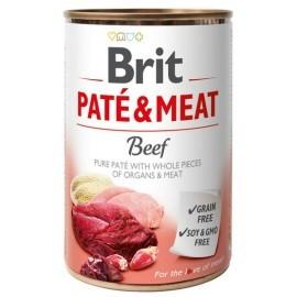 Brit Pate & Meat Dog Beef puszka 400g