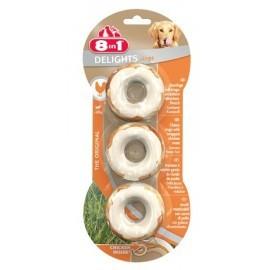 8in1 Delights Bones Rings - Kosteczki ringi do żucia 3szt