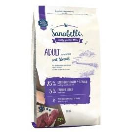 Sanabelle Adult Straub - ze strusiem 400g