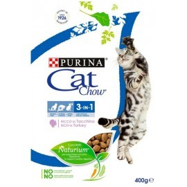 Purina Cat Chow 3in1 z indykiem 400g