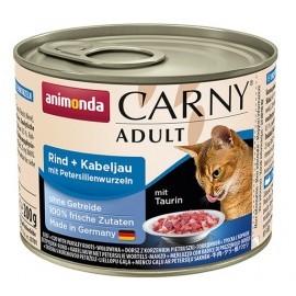 Animonda Carny Adult Wołowina, Dorsz + Korzeń pietruszki puszka 200g