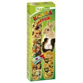Nestor Kolba 2w1 Gryzoń miód i warzywa 2szt