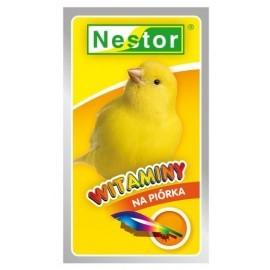 Nestor Witaminy dla kanarków na piórka