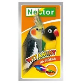 Nestor Witaminy dla średnich papug - na piórka