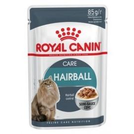 Royal Canin Hairball Care w sosie karma mokra w sosie dla kotów dorosłych, eliminacja kul włosowych saszetka 85g