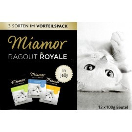 Miamor Ragout Royale Mix Galaretka - kurczak, królik, tuńczyk saszetki 12x100g