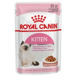 Royal Canin Kitten Instinctive w sosie karma mokra dla kociąt do 12 miesiąca życia saszetka 85g